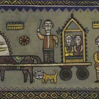 1. jamini roy | untitled (the procession)