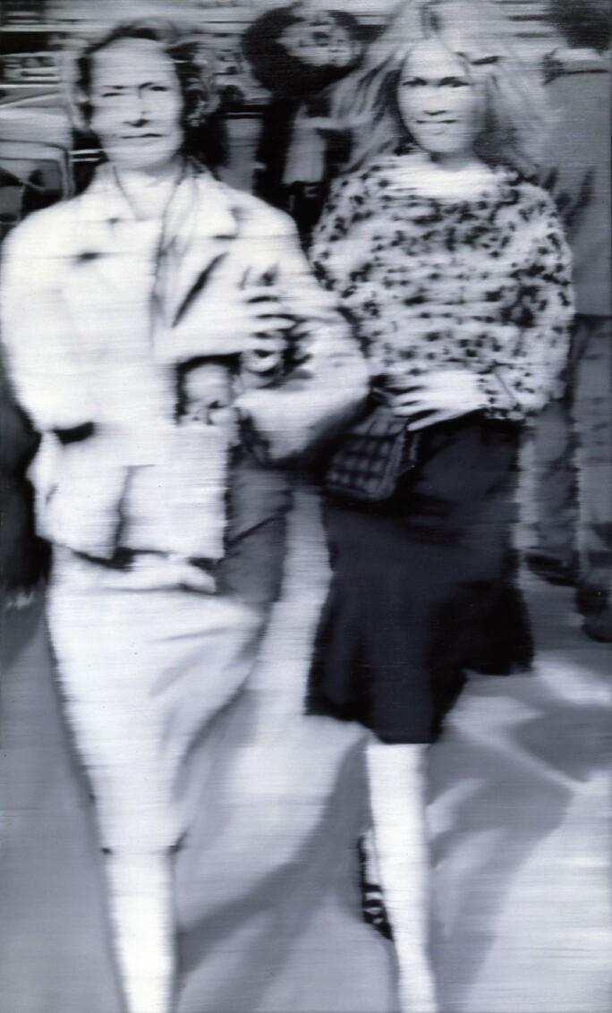 staatsgalerie Gerhard Richter, Mutter und Tochter