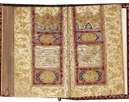 42. an illuminated miniature qur'an, turkey, ottoman, 17th century