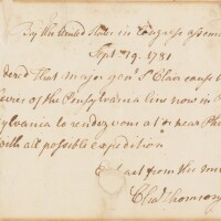 12. charles thomson, as secretary of the continental congress