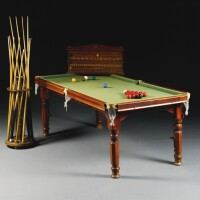 372. a bussey's patent snooker table/dining table early 20th century
