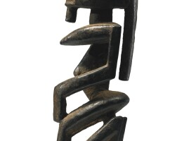 1. dogon kneeling female figure, mali