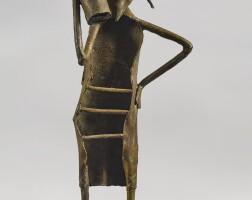 10. somnath hore | untitled (baul with iktara)