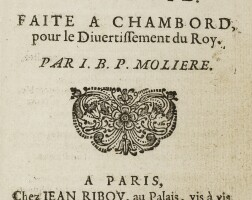 12. Molière, Jean-Baptiste Poquelin dit