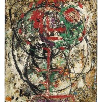 13. enrico baj (1924 - 2003) | you are unrecognizable in this state, 1952