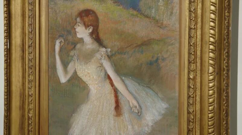 Degas' Dancer Takes On New Life in an Exquisite Pastel
