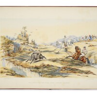 36. fotheringham, j.f. 'sporting sketches and scenes in india'. [london]: c. moody, [1851]