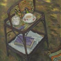 33. william leech, r.h.a.   the tea trolley