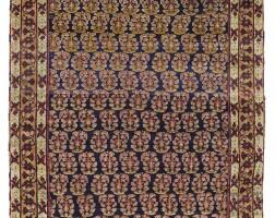 1. an afshar rug, southeast persia