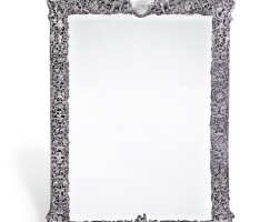 146. a victorian silver-mounted dressing table mirror, william comyns, london, 1882 |