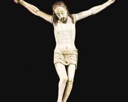 4. crucifix, indo-portugais, xviiiesiècle