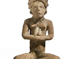 29. veracruz seated female figure, classic, ca. a.d. 450-650