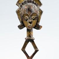 80. figure de reliquaire, kota, gabon |