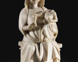 1. vierge à l'enfant, paris, première moitié du xive siècle