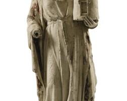 6. northern french, 14th century, | st. barbara