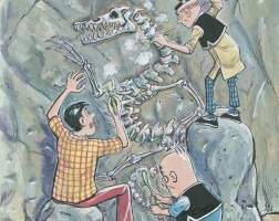 10. dragon fossil (1983)