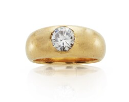 511. diamond ring, monture cartier
