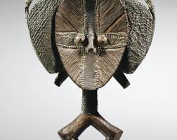 75. figure de reliquaire, kota, gabon