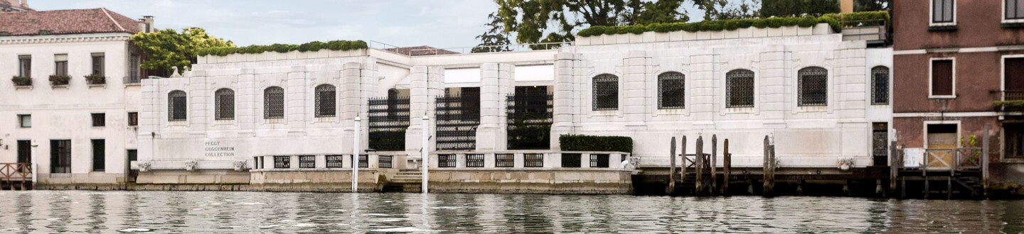 Exterior View, Peggy Guggenheim Collection