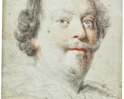 318. ottavio maria leoni | portrait of a gentleman, possibly cassiano dal pozzo