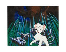 1010. jungle emperor leo by mushi production | leo animation cel