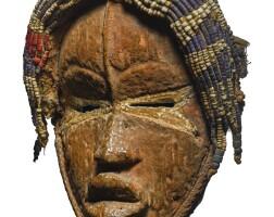 8. dan mask,côte d'ivoire or liberia