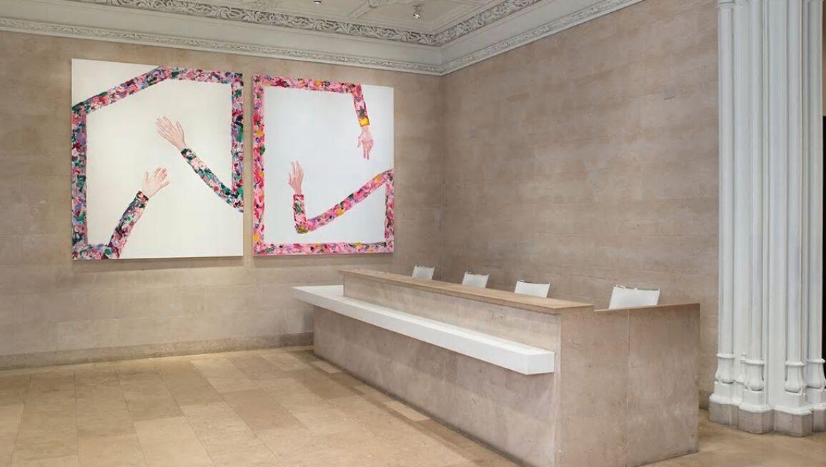 Installation view of the exhibition Eliza Douglas