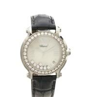 28. diamond and gem-set 'happy sport' watch, chopard