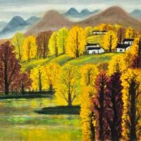 719. lin fengmian | autumn