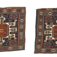 42. a pair of shahsavan soumac bags, south caucasus
