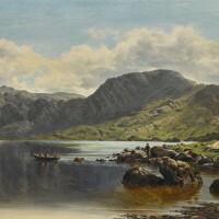 23. bartholomew colles watkins, r.h.a. | cloon lake, glencar, co. kerry