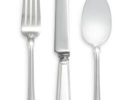 5. an american silver gramercy pattern flatware service, tiffany & co., new york, 20th century |