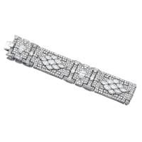 427. important diamond bracelet, circa 1930