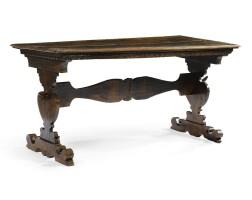 11. an italian walnut table 17th century and later