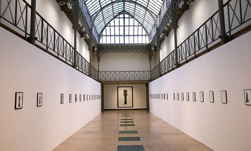 Inside Galerie Azzedine Alaia in Paris France