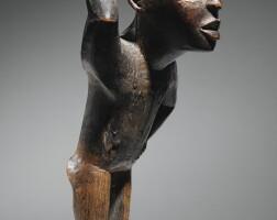 2. statue, yombe, république démocratique du congo