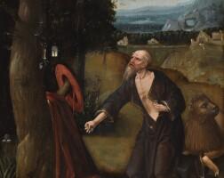 137. antwerp school, early 16th century | saint jerome