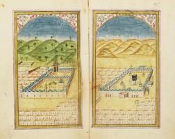 23. an illuminated dala'il al-khayrat, signed by 'abd al-qadir al-zihni, turkey, ottoman,dated 1192 ah/1778 ad