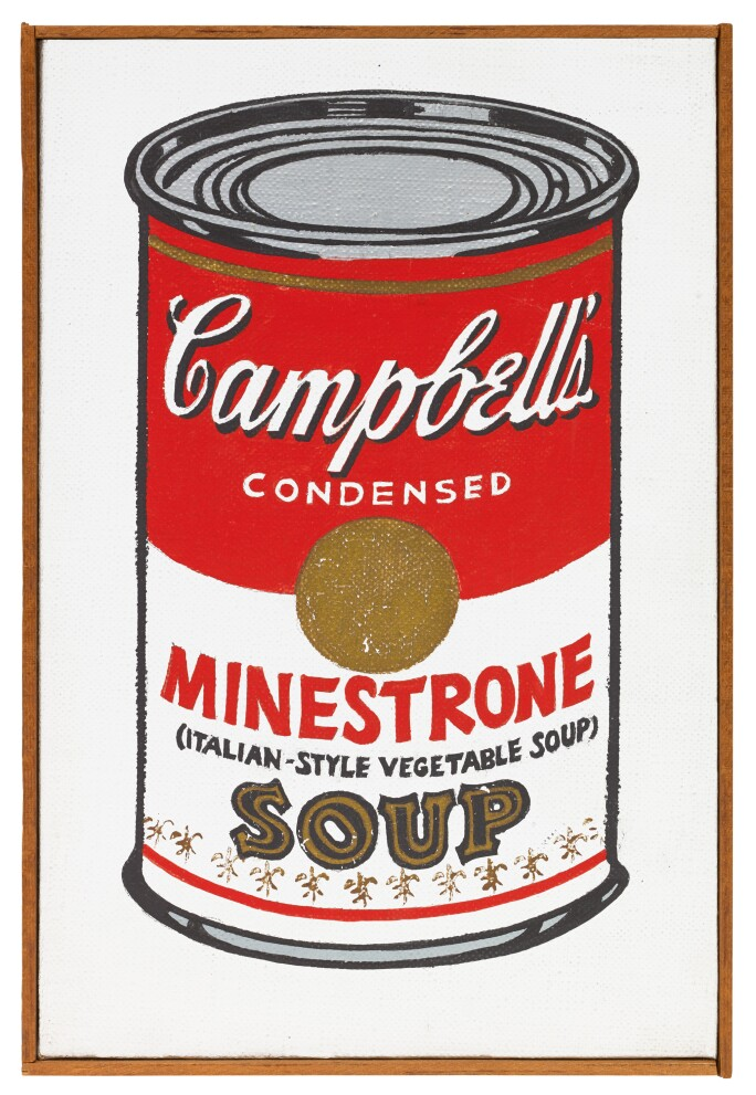 Andy Warhol, Little Campbell's Soup Can