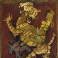 24. Maqbool Fida Husain