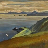 13. harry kernoff, r.h.a. | dublin bay from howth