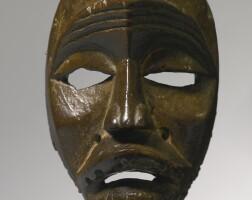 19. dan mask, ivory coast or liberia