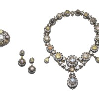 503A. a superb suite of imperial jewels, a magnificent and unique diamond parure, mid 19th century