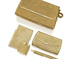 109. group of gold accessories