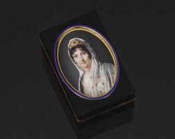 42. 玳瑁鑲黃金肖像鼻煙盒,皮埃爾·安德烈·蒙托邦製造,巴黎,1798-1809年 | 玳瑁鑲黃金肖像鼻煙盒,皮埃爾·安德烈·蒙托邦製造,巴黎,1798-1809年
