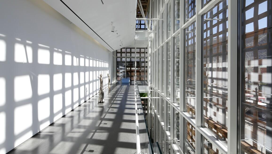 Interior View, Aspen Art Museum