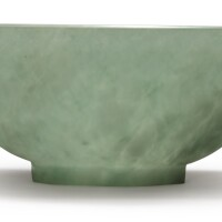 1222. a celadon jade bowl qing dynasty, 18th century |