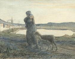 10. giovanni segantini | le due madri, 1892