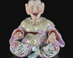 313. a meissen small figure of a nodding pagoda late 19th century