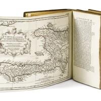 4. charlevoix. histoire de l'isle espagnole ou de s. domingue... paris, 1730-1731.2 vol. in-4. veau de l'époque.